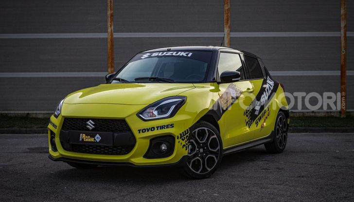 Suzuki Swift Sport: versione ad hoc per l'ACI Rally Italia Talent - Foto 6 di 25