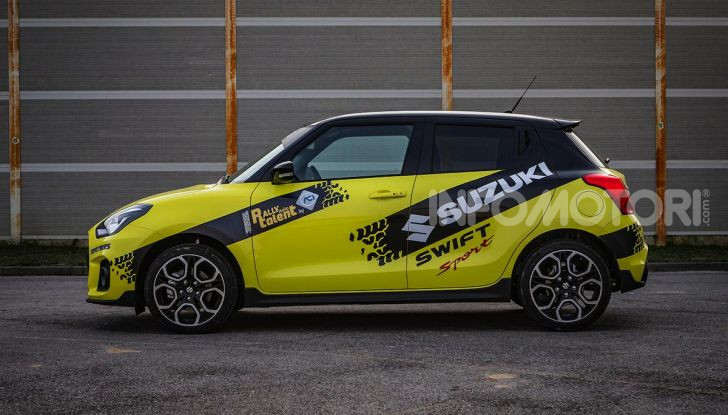 Suzuki Swift Sport: versione ad hoc per l'ACI Rally Italia Talent - Foto 7 di 25