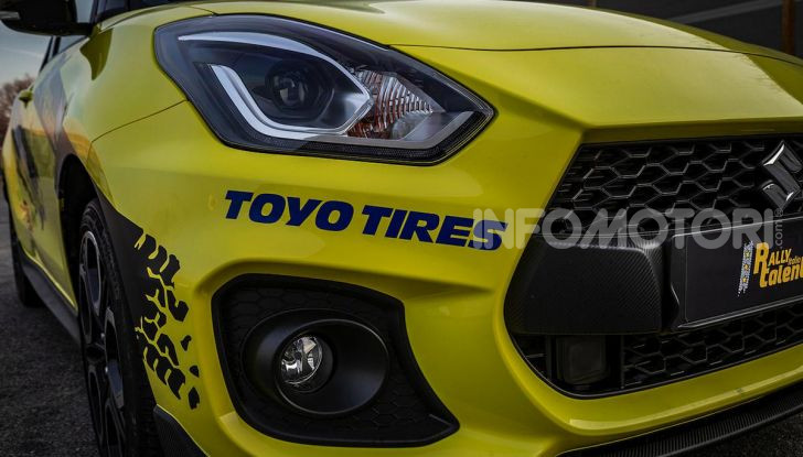 Suzuki Swift Sport: versione ad hoc per l'ACI Rally Italia Talent - Foto 9 di 25