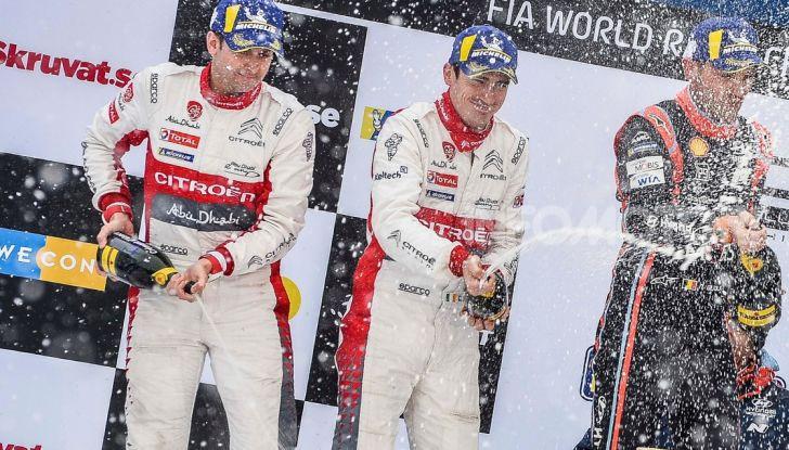 """Citroën, il Rally di Svezia non è più """"bestia nera"""" - Foto  di"""