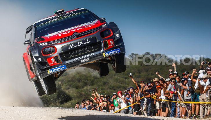WRC 2018, Argentina-  Passi avanti per la C3 WRC - Foto  di