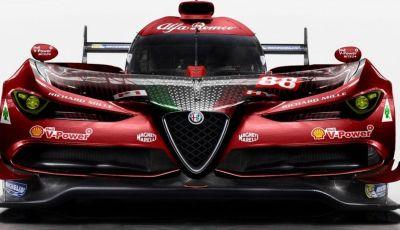 Alfa Romeo LMP1 Le Mans: rendering d'assalto per le 24 ore