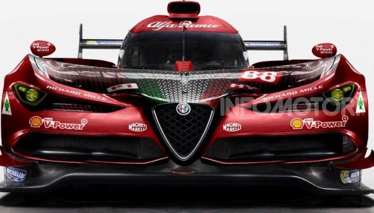 Alfa Romeo LMP1 Le Mans: rendering d'assalto per le 24 ore - Foto 1 di 7