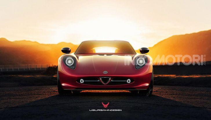Alfa Romeo Nivola 2019: il ritorno della 33 Stradale secondo Ugur Sahin - Foto 11 di 14