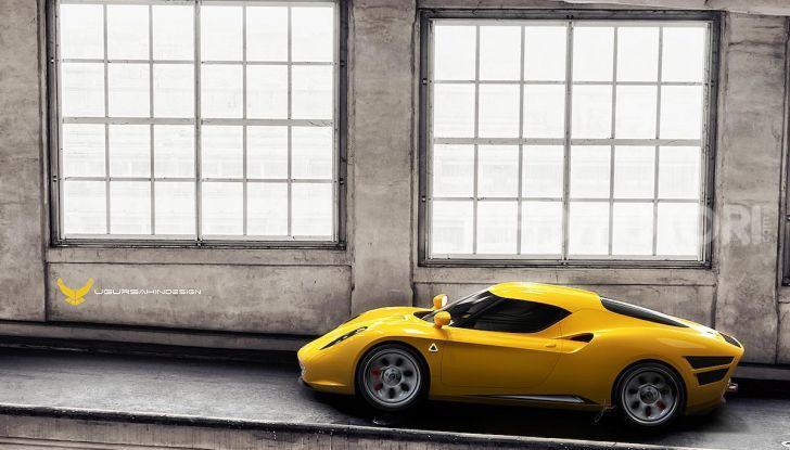 Alfa Romeo Nivola 2019: il ritorno della 33 Stradale secondo Ugur Sahin - Foto 13 di 14