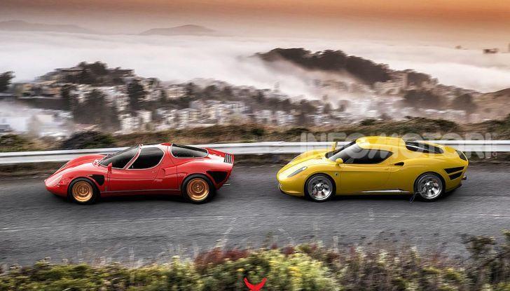 Alfa Romeo Nivola 2019: il ritorno della 33 Stradale secondo Ugur Sahin - Foto 14 di 14