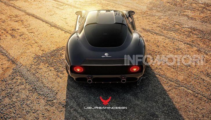 Alfa Romeo Nivola 2019: il ritorno della 33 Stradale secondo Ugur Sahin - Foto 9 di 14