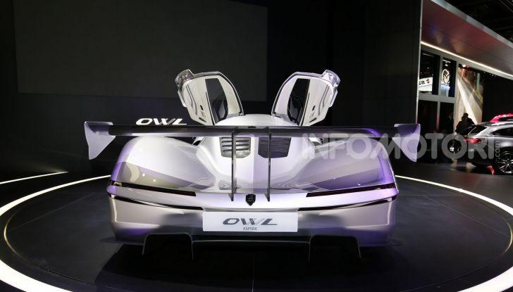Aspark Owl, la nuova supercar elettrica giapponese da record - Foto 3 di 6