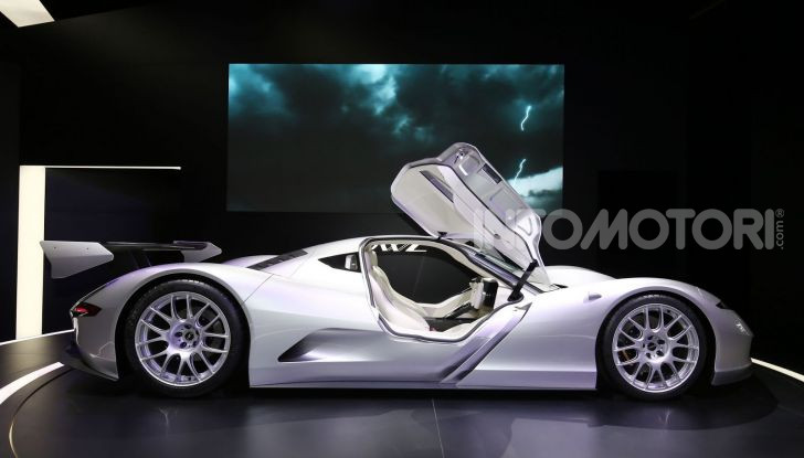Aspark Owl, la nuova supercar elettrica giapponese da record - Foto 1 di 6