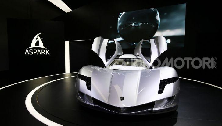 Aspark Owl, la nuova supercar elettrica giapponese da record - Foto 5 di 6