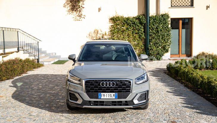 Audi Q2 1.6 TDI S Tronic Sport: prova su strada del crossover premium - Foto 10 di 42