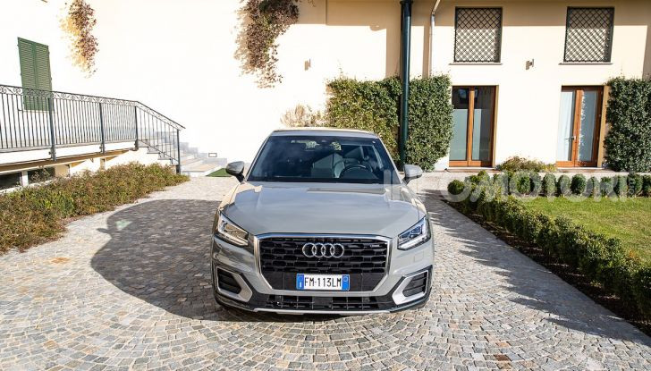 Audi Q2 1.6 TDI S Tronic Sport: prova su strada del crossover premium - Foto 13 di 42