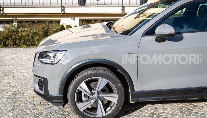 Audi Q2 1.6 TDI S Tronic Sport: prova su strada del crossover premium - Foto 14 di 42