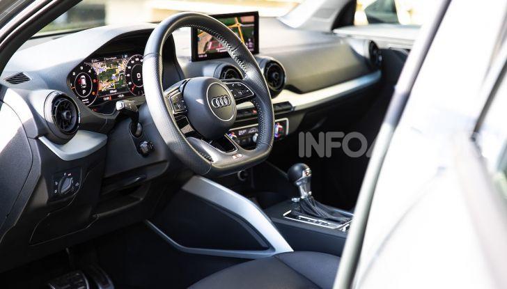 Audi Q2 1.6 TDI S Tronic Sport: prova su strada del crossover premium - Foto 24 di 42