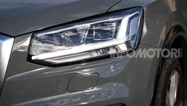Audi Q2 1.6 TDI S Tronic Sport: prova su strada del crossover premium - Foto 26 di 42