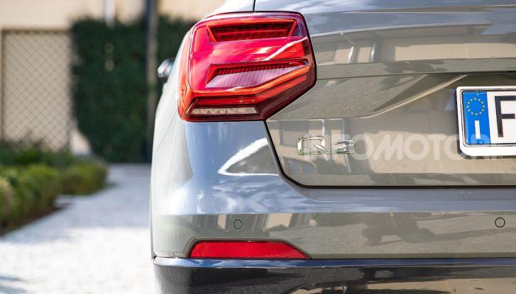 Audi Q2 1.6 TDI S Tronic Sport: prova su strada del crossover premium - Foto 27 di 42