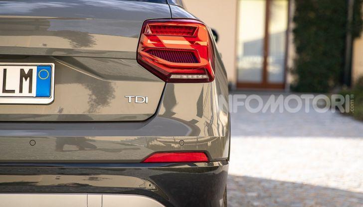 Audi Q2 1.6 TDI S Tronic Sport: prova su strada del crossover premium - Foto 28 di 42