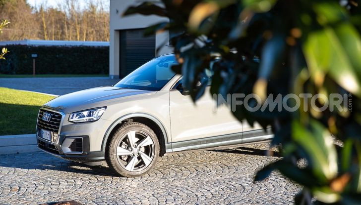 Audi Q2 1.6 TDI S Tronic Sport: prova su strada del crossover premium - Foto 29 di 42