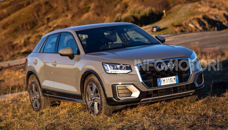 Audi Q2 1.6 TDI S Tronic Sport: prova su strada del crossover premium - Foto 1 di 42