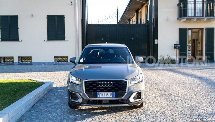 Audi Q2 1.6 TDI S Tronic Sport: prova su strada del crossover premium - Foto 30 di 42