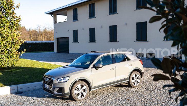 Audi Q2 1.6 TDI S Tronic Sport: prova su strada del crossover premium - Foto 31 di 42