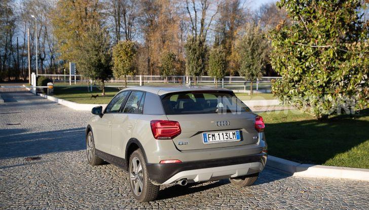 Audi Q2 1.6 TDI S Tronic Sport: prova su strada del crossover premium - Foto 32 di 42