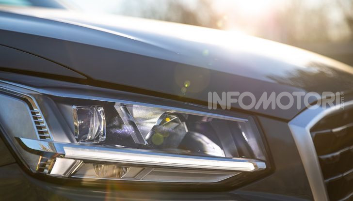 Audi Q2 1.6 TDI S Tronic Sport: prova su strada del crossover premium - Foto 33 di 42