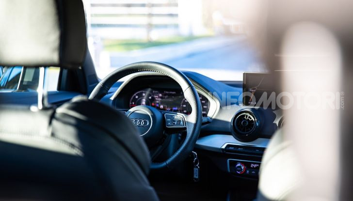 Audi Q2 1.6 TDI S Tronic Sport: prova su strada del crossover premium - Foto 34 di 42
