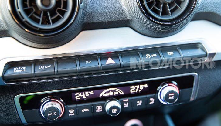 Audi Q2 1.6 TDI S Tronic Sport: prova su strada del crossover premium - Foto 36 di 42