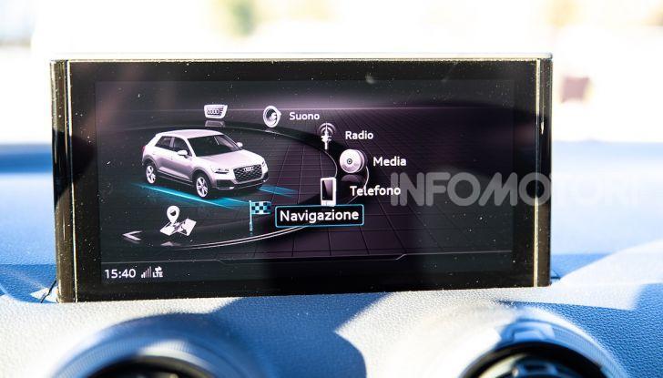 Audi Q2 1.6 TDI S Tronic Sport: prova su strada del crossover premium - Foto 38 di 42