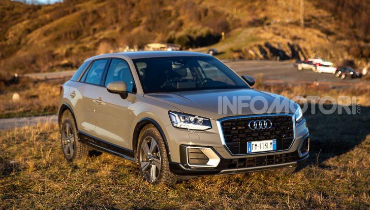 Audi Q2 1.6 TDI S Tronic Sport: prova su strada del crossover premium - Foto 2 di 42