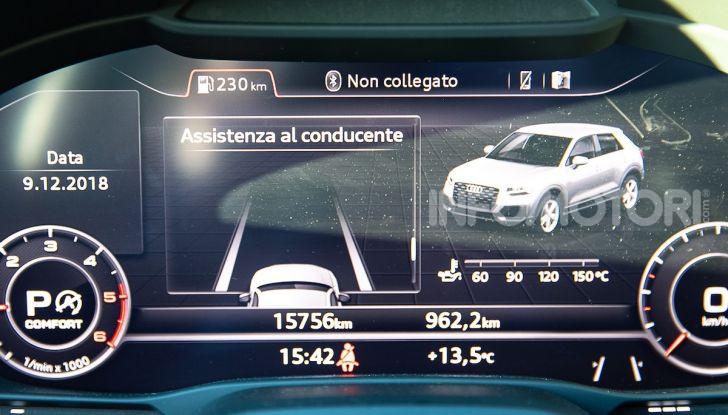 Audi Q2 1.6 TDI S Tronic Sport: prova su strada del crossover premium - Foto 40 di 42
