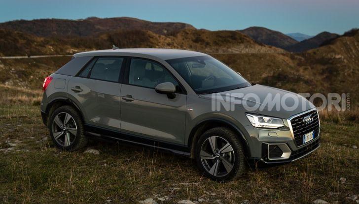 Audi Q2 1.6 TDI S Tronic Sport: prova su strada del crossover premium - Foto 4 di 42