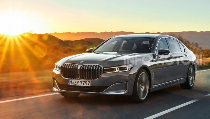Nuova BMW Serie 7 2019: un restyling imperioso per l'ammiraglia tedesca - Foto 10 di 21