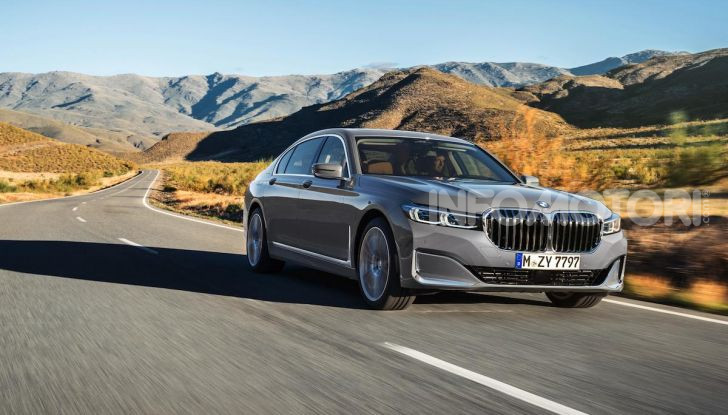 Nuova BMW Serie 7 2019: un restyling imperioso per l'ammiraglia tedesca - Foto 1 di 21