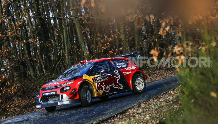 WRC: al via la stagione 2019 del Citroën Total World Rally Team - Foto 2 di 5