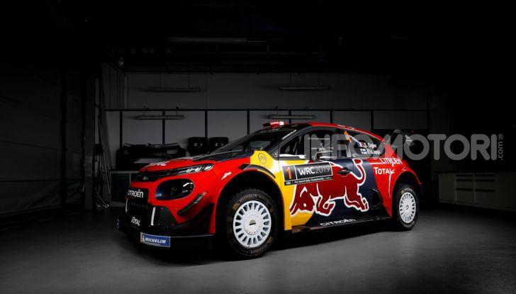 WRC: al via la stagione 2019 del Citroën Total World Rally Team - Foto 1 di 5