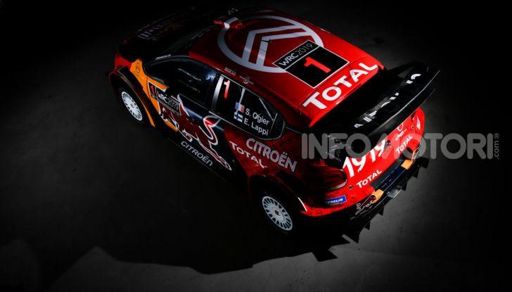 WRC: al via la stagione 2019 del Citroën Total World Rally Team - Foto 3 di 5