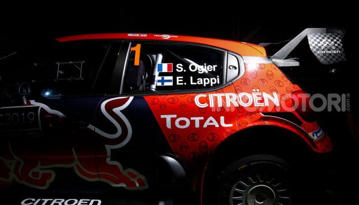 WRC: al via la stagione 2019 del Citroën Total World Rally Team - Foto 4 di 5