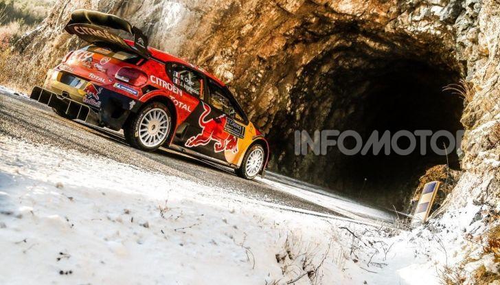 WRC Monte Carlo 2019 – Giorno 1: Ogier al comando con la Citroën C3 WRC - Foto 2 di 6