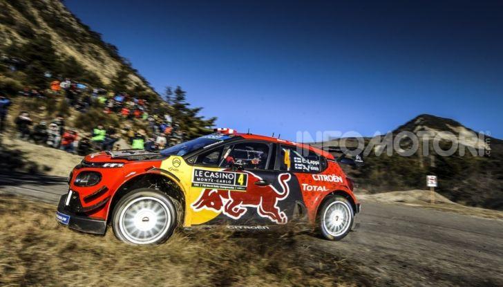 WRC Monte Carlo 2019 – Giorno 1: Ogier al comando con la Citroën C3 WRC - Foto 3 di 6