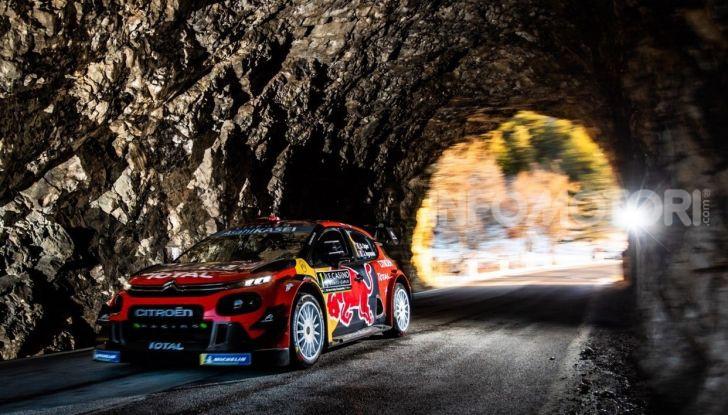 WRC Monte Carlo 2019 – Giorno 1: Ogier al comando con la Citroën C3 WRC - Foto 4 di 6
