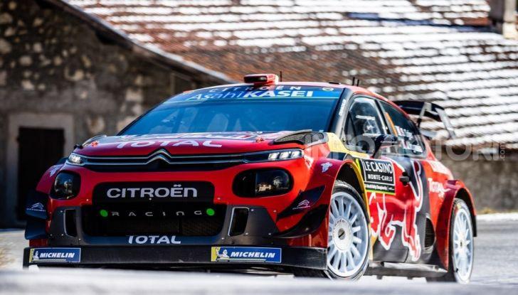 WRC Monte Carlo 2019 – Giorno 1: Ogier al comando con la Citroën C3 WRC - Foto 1 di 6