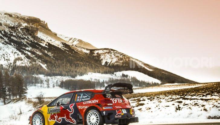 WRC Monte Carlo 2019 – Giorno 2: la Citroën C3 WRC di Ogier resta in testa - Foto 2 di 6