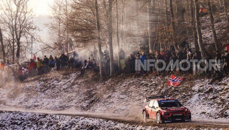 WRC Monte Carlo 2019 – Giorno 2: la Citroën C3 WRC di Ogier resta in testa - Foto 3 di 6