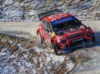 WRC Monte Carlo 2019 – Giorno 2: la Citroën C3 WRC di Ogier resta in testa