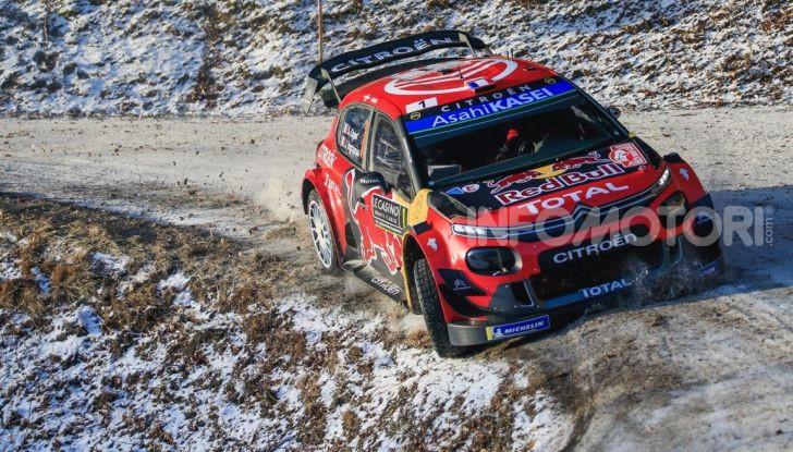 WRC Monte Carlo 2019 – Giorno 2: la Citroën C3 WRC di Ogier resta in testa - Foto 1 di 6