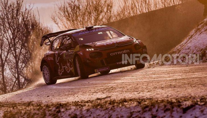 WRC Monte Carlo 2019 – Giorno 2: la Citroën C3 WRC di Ogier resta in testa - Foto 4 di 6