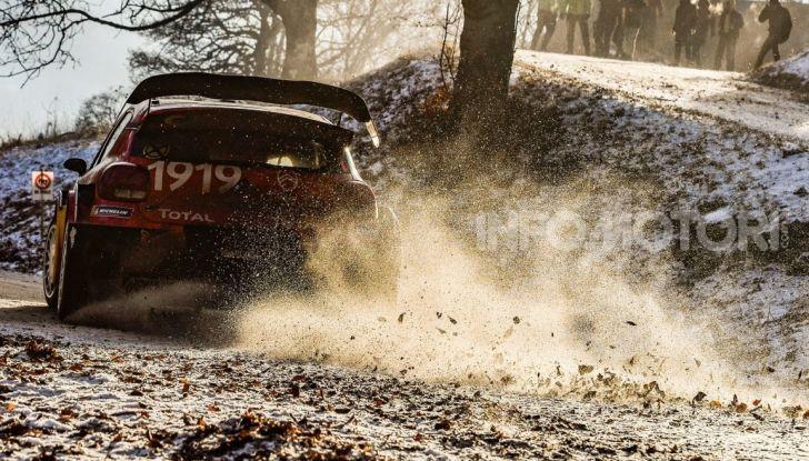 WRC Monte Carlo 2019 – Giorno 2: la Citroën C3 WRC di Ogier resta in testa - Foto 5 di 6