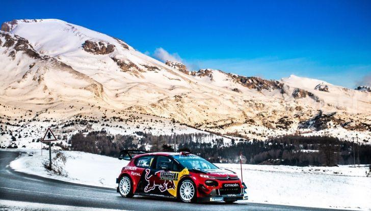 WRC Monte Carlo 2019 – Giorno 2: la Citroën C3 WRC di Ogier resta in testa - Foto 6 di 6